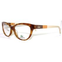 Armazon Lentes Hipster Lacoste L2677 Geek Retro 100% Nuevo