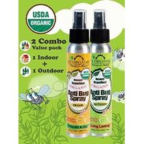 # 1 Orgánica Repelente De Insectos ÷ É Exterior 4 Oz + Int