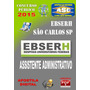 Apostila Ebserh He Ufscar Sp Assistente Administrativo 2015