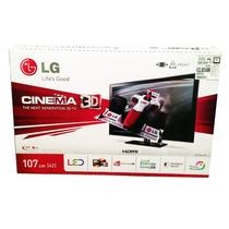 Tv Lg Led 42 Pulgadas 3d Mod. 42lm3400 2 Lentes Nuevo Paq