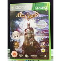Jogo Batman Arkham Asylum Xbox 360, Original, Novo, Lacrado