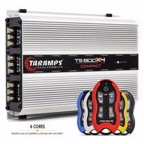 Modulo Taramps Ts-800x4 Compact 800w + Controle Stetsom Sx2