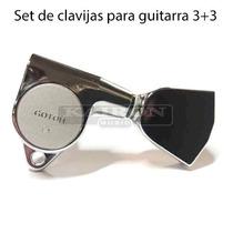 Clavijas Gotoh G1012cr 3+3 Para Electrica Acustica
