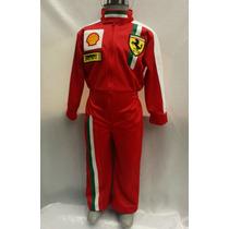 Disfraz Traje Piloto Carreras Inspirado En Ferrari Niño Cars