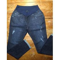 Calça Jeans New Baggy Megadose Moda Gestante