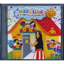 Cd Mara Lima E Seus Amiguinhos Vol 5 (bônus_playback)