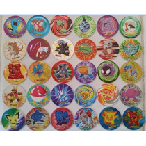 Tazos Pokémon 4 Coleccionables