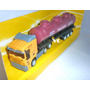 Camión Cisterna Imitación Scania - Escala1/64 Metal Banatoys