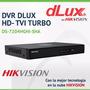 Dvr Dlux Hikvision Grabador De Cámaras Cctv Hd 4 Ch Oferta!!