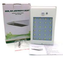 Lámpara Solar 24 Led Sensor Movim + Sensor Luz Envio Gratis