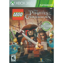 Lego Pirates Of The Caribbean Xbox 360 Mídia Física Lacrado