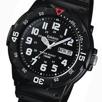 Relojes Casio Estandar Mrw200 Analogo Fecha Y Día Wr100m