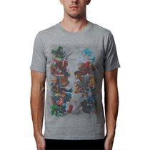 Camiseta Marvel Vs Capcom Blusas Casaco Moletom Heróis Games