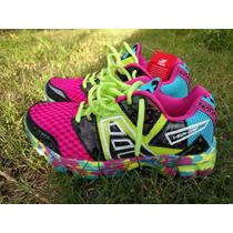 Zapatillas I Run De Colores Talle 40