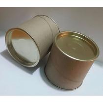 Caja De Cartón Tapa Metalica