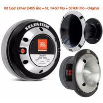 Kit Com Driver D405 Trio + Corneta Hl14-50 Trio + St400 Trio