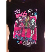 Vestido Monster Hight Original Disfraz Nenas Draculaura