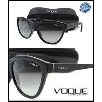 Lente Solar Gafas Vo2993s Black Micas Gray Gradient Original