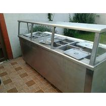 Mueble Para Restaurante De Acero Inoxidable