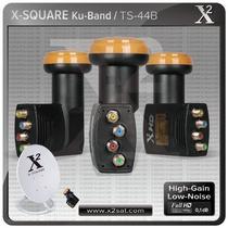 Lnb Universal Banda Ku 0.1 Db Bajo Ruido Full Hd