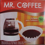 Filtros Cafetera Mr. Coffee Tipo Cesta Desechables 50 Und.