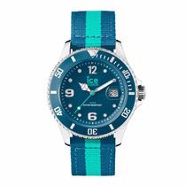Reloj Ice Watch Polo Azul Y Turquesa 43mm Po.pte.u.n.14