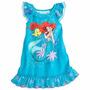 Camisola Ariel Pequena Sereia Disney Store - 5/6 Anos