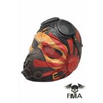 Mascara Nova Fma Kamikaze Feita De Fibra De Vidro