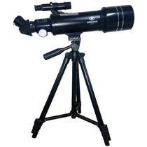 Telescópio Greika 40070m Refrator Azimutal 70mm Focal 400mm