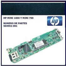 Tarjeta Madre Nueva Hp Mini 1000 Nueva Parte:504682-001