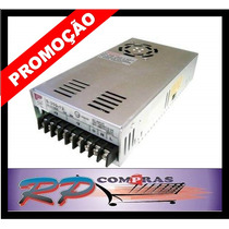 Fonte Chaveada Cftv Som Automotivo Carro Camera 12v 30a 360w