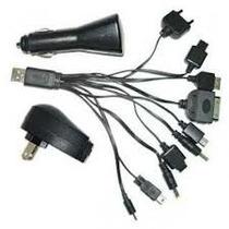 Cargador Universal Celular Kit Usb Blackberry Sony Nokia