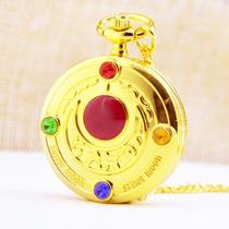 Sailor Moon - Reloj De Bolsillo Ds4