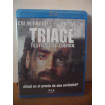 Triage Blu Ray Movie Pelicula Colin Farrell Paz Vega