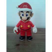 Super Mario Bross Navidad Muñeco Juguete Niños 22cm