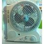 Ventilador Recargable Con Lampara De Emergenc Y Radio Gp2750