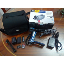 Cámara Filmadora Sony Handycam Dcr-sx44,16gb+2gb+bateria Adi