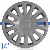 Jogo Calota Aro 14 Citroen C3 2013 2012 2011 2010 09 08 07