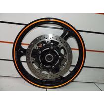 Roda Dianteira Com 2 Disco Freio Suzuki V-strom 650