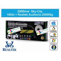 2000 Sky-city 16dbi + Realtek Auditoria 8187l Wifi