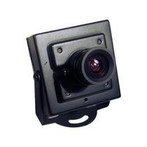 Micro Camera De Segurança Ccd Sharp 1/4 480 Linhas 0,08 Lux