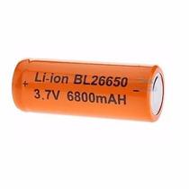 2 Bateria Recarregável 26650 P/ Lanterna Tática