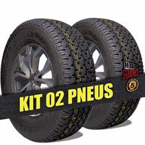Kit 2 Pneu 265/70 R16 Michelin Remold 5 Anos Garantia