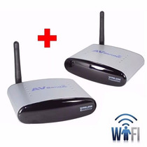 Transmissor Vídeo Wireless Receptor Tv S/ Fio 2,4ghz