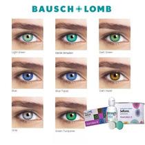 Lente De Contato Star Colors Bausch Lomb + Optifree