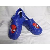 Sandália Crocs Crocband Homem Aranha - 22 Cm - Original Eua