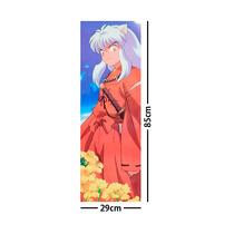 Inuyasha Poster Largo Plastificado Flores