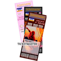 Invitaciones Infantiles Tipo Ticketmaster, Baby Shower