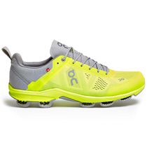 Tenis On Cloudsurfer Grey/neon Men Correr Original Triatlon