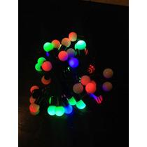 50 Luces Petardos Luces Led De Colores 4 Mts. De Largo